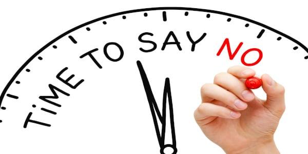 Apprendre a dire non
